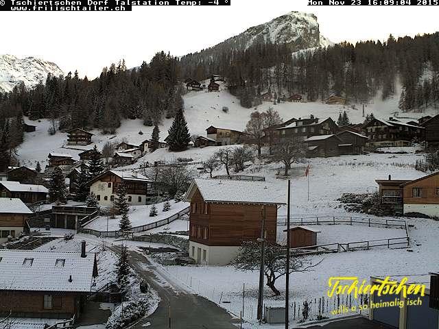 Webcam Tschiertschen Dorf
