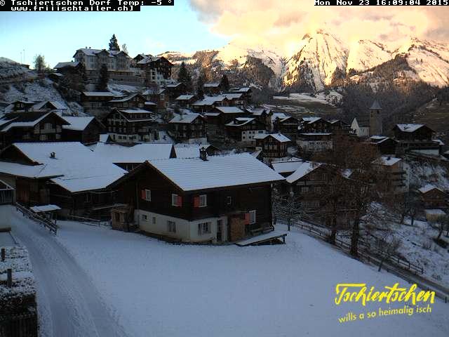 Webcam van het dorp